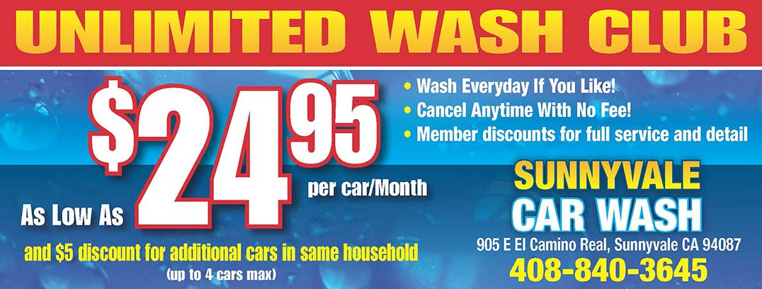 Express and full service car wash